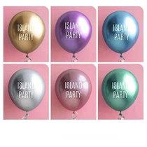 金属气球定制印字logo定做汽球地推生日开业创意diy广告气球装饰