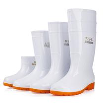 Плюс размер белый дождь обувь Пищевая фабрика рабочие дождевые сапоги противоскользящие пищевые гигиенические сапоги маслостойкие кислоты и щелочи шеф-повар вода обувь