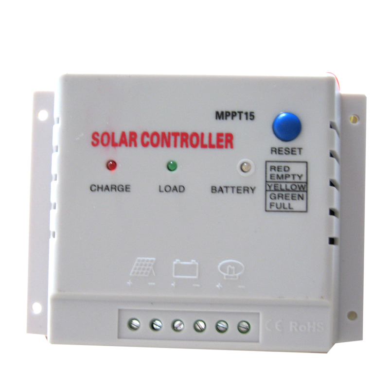 [The goods stop production and no stock]Photosynthetic mppt solar controller 15A solar charge controller 12V24V automatic identification
