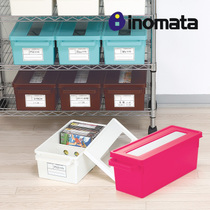 Japan imports Inomata Windows CD storage box CD finishing box DVD disc storage box disc box