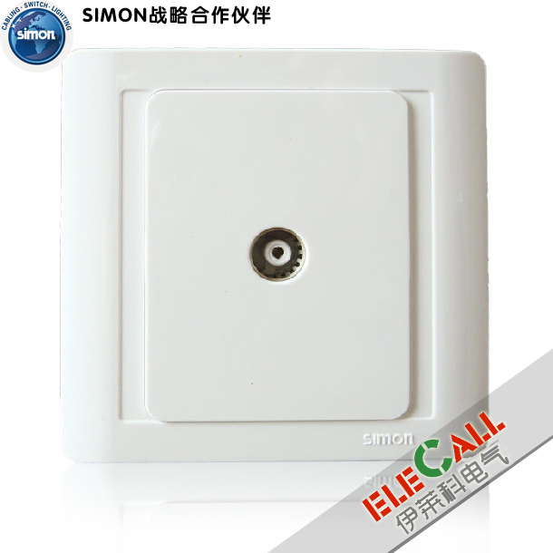 Simon Switch Jiajia 55 Series One Television Socket N55114