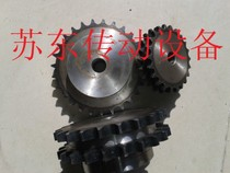 1-inch double-row sprocket with 16a-2 chain 10 11 12 13 14 15 16 17 18 19 20-30 Teeth