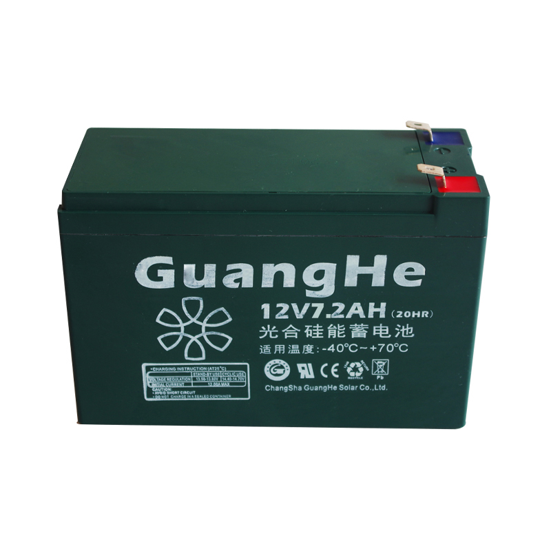 Photosynthetic 12V7AH silicon energy storage battery Maintenance-free silicon energy storage battery 7.2ah access control UPS battery