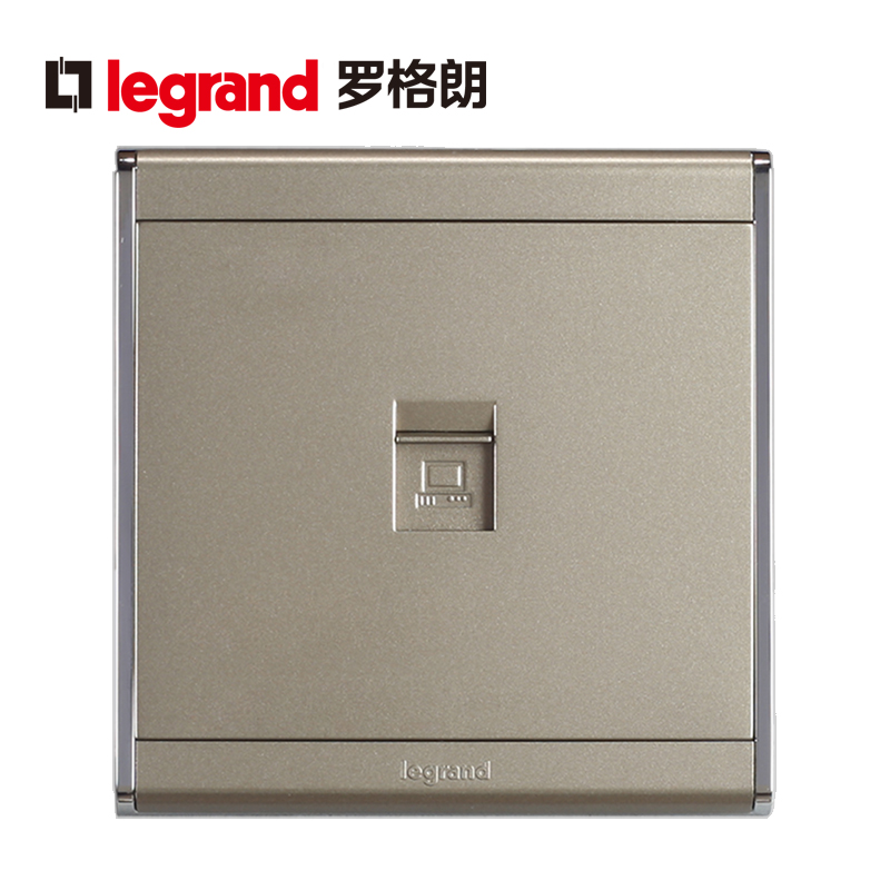 Tcl Legrand still satin sand gold a computer socket computer wall socket type 86