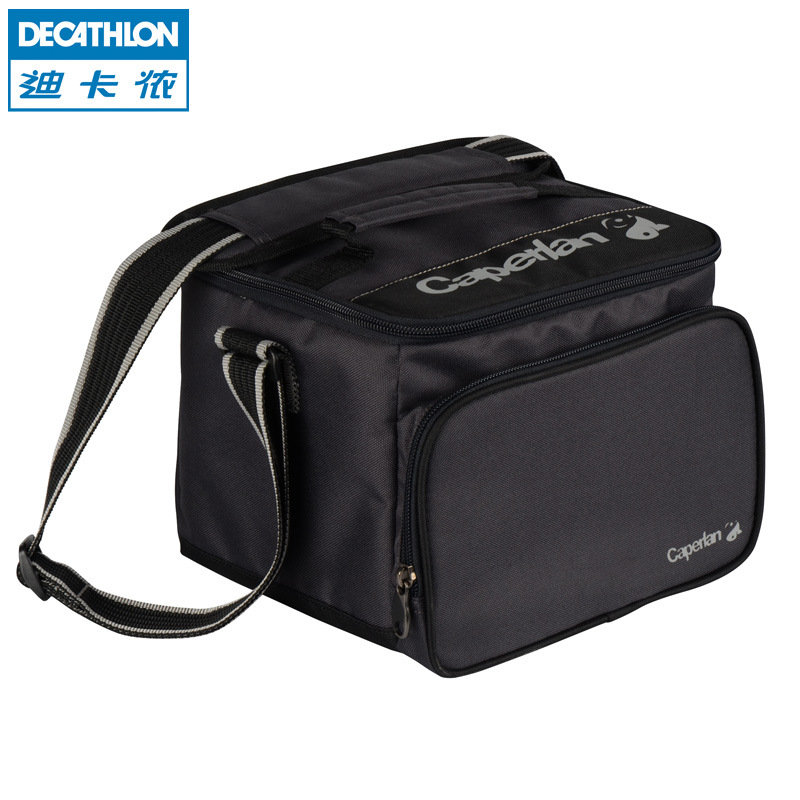 Decathlon Road Asia Pack 2nd Floor Canvas Small Fishing Bag Fishing Tackle CAPERLAN