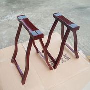 High grade guzheng shelf bracket A type frame herringbone frame solid wood frame universal portable guzheng