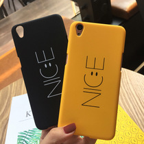 (Any three) Japan and South Korea contracted NICE smiley face letters oppor9plusiphone67 Mobile Shell