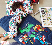 Spot Batman Spider-man Avengers childrens sleeping bags to prevent playing in small quilt by gift