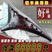 Factory direct lightning delivery 12 holes Alto C Ocarina twelve hole AC burning