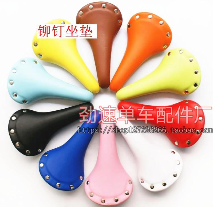 Death coaster dead fly saddle rivet seat bicycle seat cushion seat bicycle seat die coaster seat bag