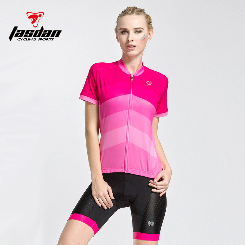 Women's Jersey Short Sleeve Set Spring Summer Spinning Bike Lady Quick Dry Mountain Bike Equipment