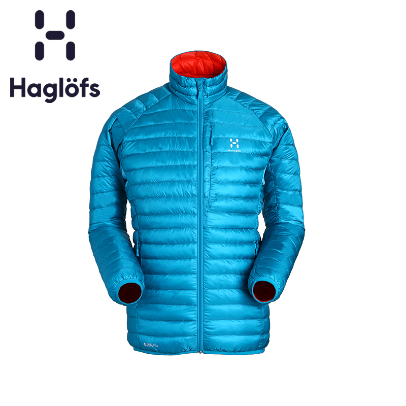Haglofs matchstick sports outdoor men's anti-drip water lightweight self-cultivation warm down jacket 602326
