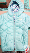 The North Face / North Fall and Winter Cotton Clothes for Boys and Girls with Outerwear CA42 on both sides
