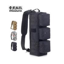 D5 column Transformers assault bag airborne bag shoulder hiking riding messenger bag tactical package