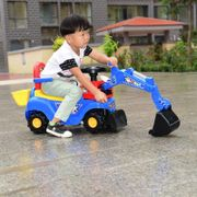 Large children electric excavators can ride, ride toys, excavators, boys, forklifts, children can sit