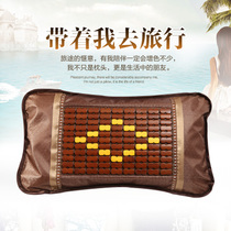 Summer hollow canes liangzhen woven breathable bamboo steaming pillow pillows sauna beauty salon pillow for adults