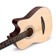 Shipping 38 inch folk guitar beginner students practicing musical instruments send a package for beginners Jita