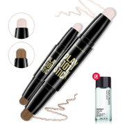 A double bar experience high light Concealer & shadow V stereo face silhouette Biying silkworm pen cream