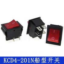 Ship-type Switch Ship-type Power Supply Switch 4-foot Switch with Lamp KCD4-201N KCD2