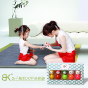 BK flagship children nail polish peelable non-toxic and tasteless can tear 5 bottles of baby tear water Manicure hand set