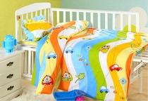 幼儿园被子三件套含芯六件套全棉被套宝宝午睡儿童棉花被褥纯棉冬