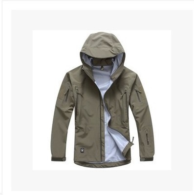5.56-Real TAD Raptor Hard Shell Shark Skin Charge Garment Male Outdoor Spring and Autumn Full Pressure Rubber for Spring and Autumn Protection