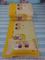 Kindergarten quilts pure cotton child cartoon bedding set of 36 blue Mickey yellow frog thickened