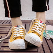 Spring ulzzang canvas shoes female summer shoes all-match 2017 Korean students Harajuku white shoes new shoes