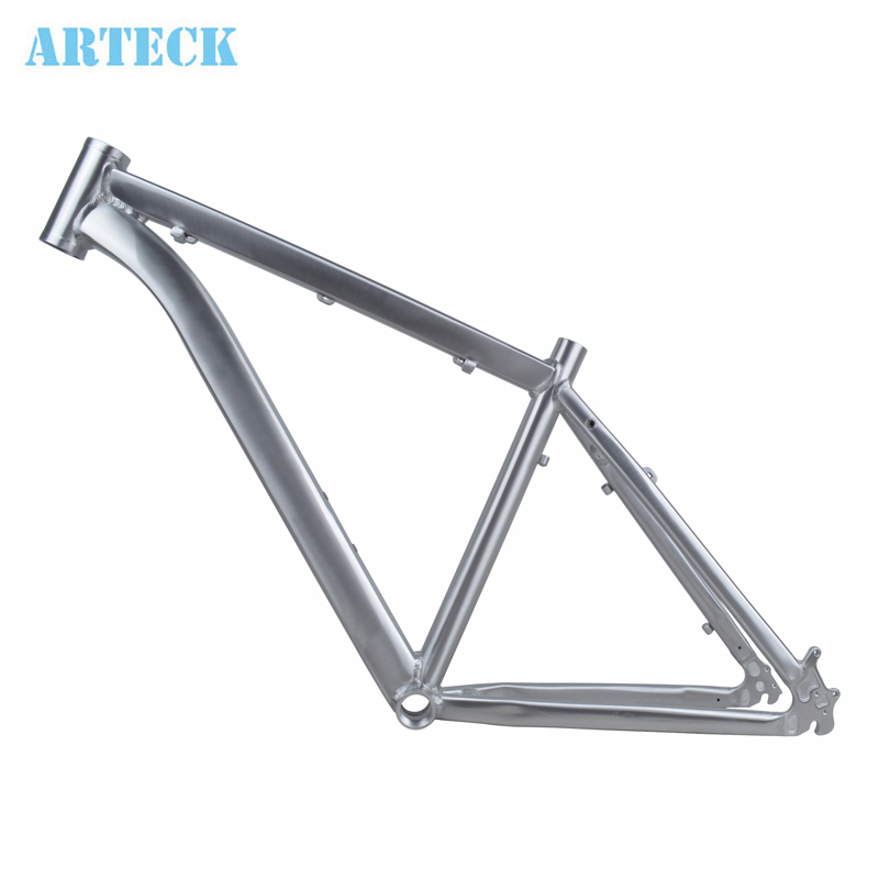 ARTECK 26 inch * 17 inch high polished brushed silver mountain bike rack Mountain bike tripod