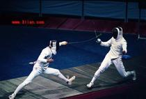 Shanghai Jian He fencing equipment mens heavy sword set