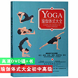 yoga style Daquan junior high school entry-to-proficient video tutorials graphic materials + DVD discs