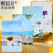 Xi son custom advertising office bedroom bathroom lifting curtain shading waterproof curtain shutter shade