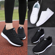 2017 new winter women shoes Korean students flat running shoes casual shoes sneakers black travel shoes