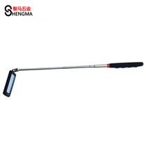 (Saint Horse hardware) LED with lamp telescopic viewing mirror bottom check mirror with lamp universal visiting Mirror Square type