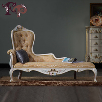 FP French real wood carving flower beauty couch European luxury low spelling chaise longue classic chaise : how do you spell chaise longue - Sectionals, Sofas & Couches