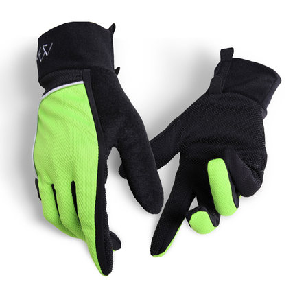 Mountain top riding gloves outdoor climbing breathable full finger gloves non-slip men and women spring, summer and autumn sunscreen