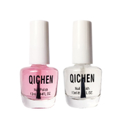 Seven morning transparent nail polish oil bottle of 2 sets of oil and calcium nutrition, oil, armor, oil, Nail Polish