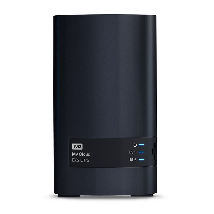 WD/Western Data My Cloud Ex2 12TB NAS Network Cloud Storage Server Dual-disk Enterprise Sharing Hard Disk Box RAID Disk Array Household Private Cloud Disk