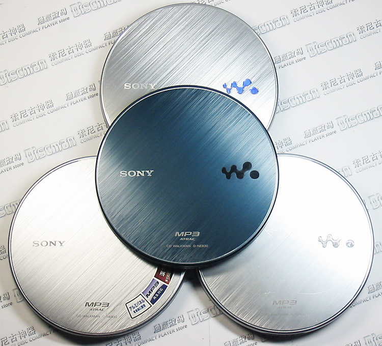 Flagship Sony SONY D-NE830 CD Walkman / CD player / CD player, support MP3 disc, lossless