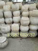 Wholesale Natural Marble Column Pier Pier Shek Kwu Nail stone stone carving old ornaments Folk paleolithic factory direct sales