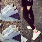 The Korean version of the spring and summer of white shoes casual shoes sneakers shoes shoes soled running shoes breathable shoes students