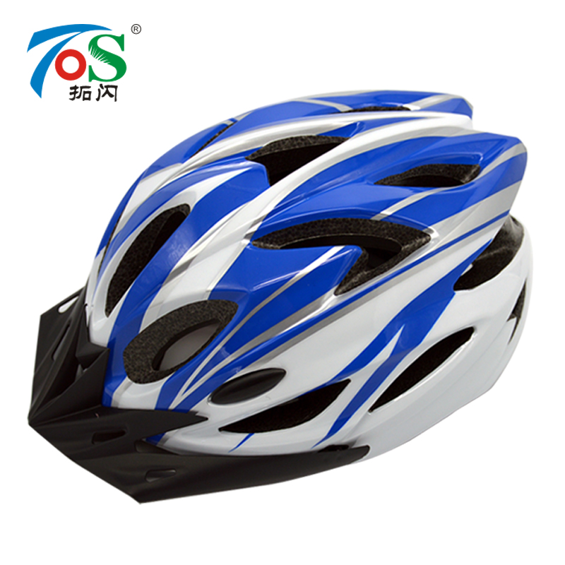 Extension flash road bike riding mountain bike helmet integrated men and women bicycle equipment ultralight helmet
