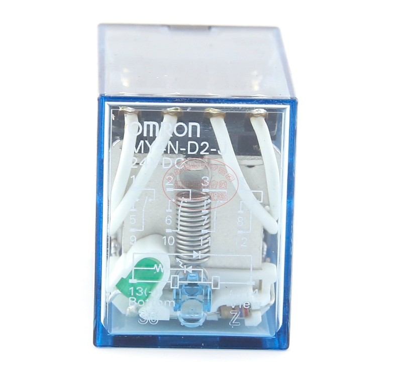 Genuine authentic Omron (Shenzhen) OMRON relay MY4N-D2-J MY4NJ-D2 DC24V