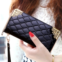female wallet Ms. long wallet Korean version of zipper clutch 2016 new women's small hand bag wallet wallet tide
