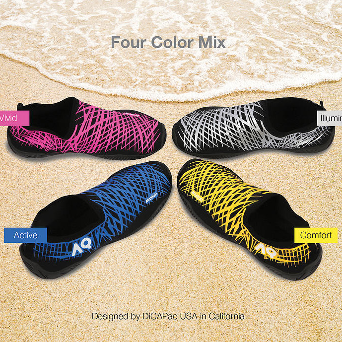 Korea professional wading shoes comfortable barefoot patch shoes men and women outdoor non-slip quick-drying beach upstream amphibious shoes
