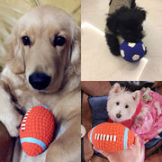 Dog toys, sounding toys, balls, puppies, Teddy, golden retrievers, big dog molars, bite puppies, training pet products