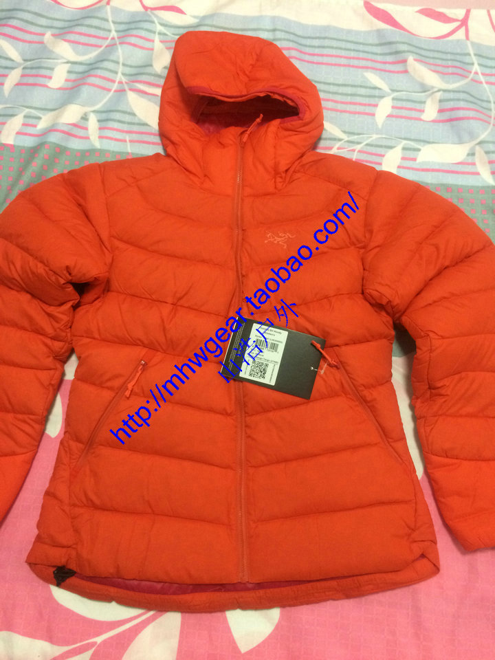 Authentic spot Arc'teryx Thorium SV Hoody women's down jacket Item No. 14947