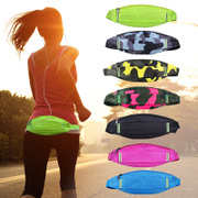 Outdoor waist bag male female running waist bag sports music mobile phone bag close fitting security invisible purse running packet
