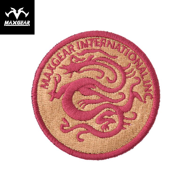 MacGyver outdoor equipment Dragon pattern stickers Outdoor diy personality identification stickers Armbands Accessories