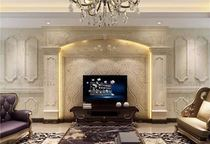 Chongqing Custom Natural Marble TV background wall gateway background wall TV wall Jade TV wall